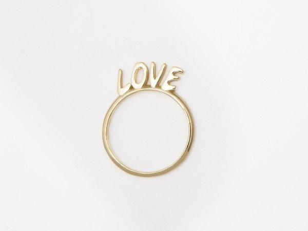 Anello in argento con messaggio LOVE - Ivy Gioielli Prato