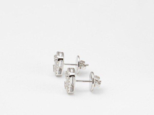 Orecchini in oro bianco con Diamanti - Ivy Gioielli Prato